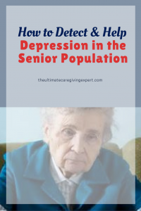 Depressed woman|How to detect and help depression in the senior population