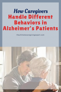 Daughter and mother|How caregivers handle different behaviors in Alzheimer's