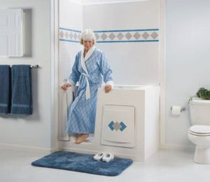 Woman getting out of shower|Caregiving Tips on Germs and Infection