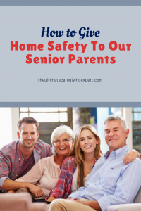 Family on couch|How to give home safety to our senior parents