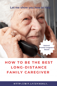 Long-Distance Family Caregiver
