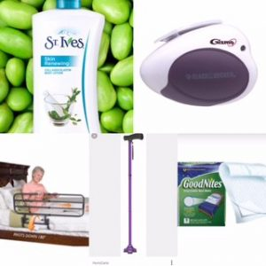 St. Ives, Gizmo can opener, Bed railing, Hurricane, GoodNites pads|Top 10 Products To Make Family Caregiving Easier