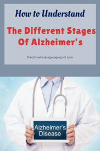 Doctor holding Alzheimer's sign|How to understandthe different stages of Alzheimer's