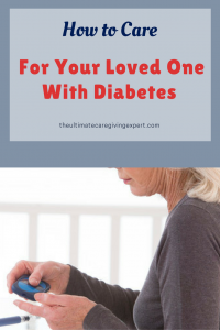 Women taking her blood sugar|How to care for your loved one with diabetes