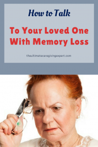Woman trying to remember|How to talk to your loved one with memory loss