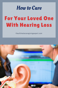 Man with audiologist | How to Care for your loved one with hearing loss