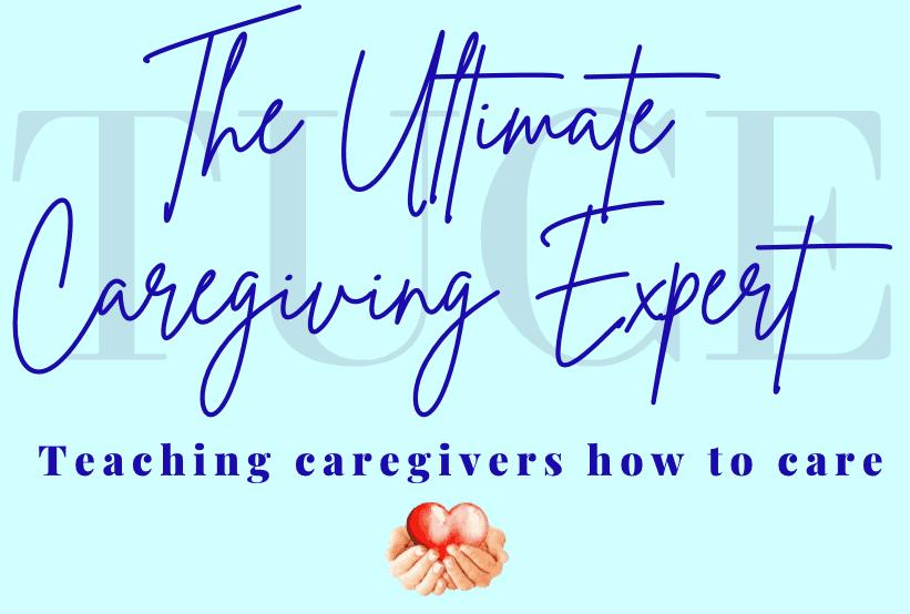 the ultimate caregiving expert logo blue